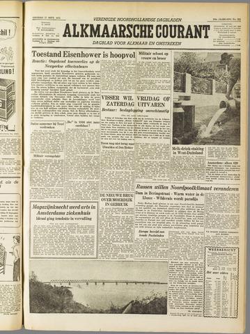 Alkmaarsche Courant 1955-09-27