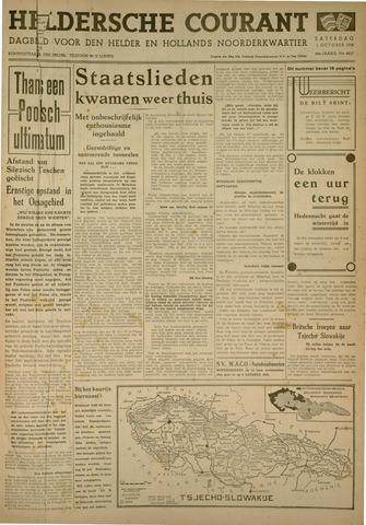 Heldersche Courant 1938-10-01