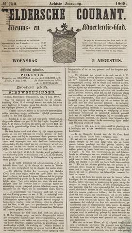 Heldersche Courant 1868-08-05