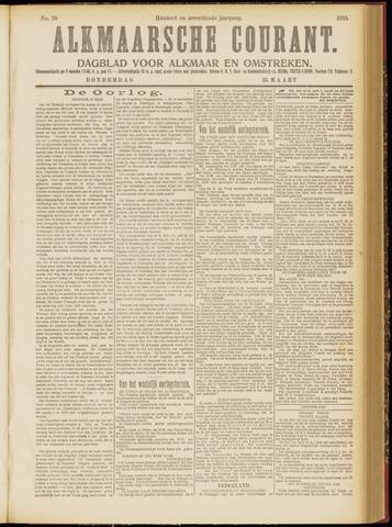 Alkmaarsche Courant 1915-03-25