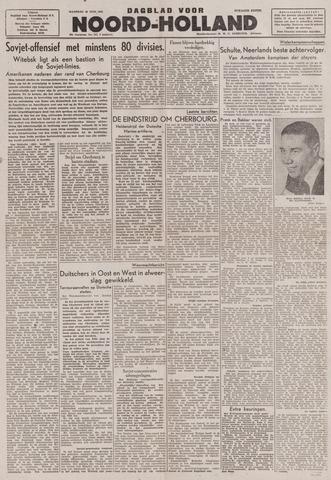 Dagblad Noord-Holland, Schager editie 1944-06-26