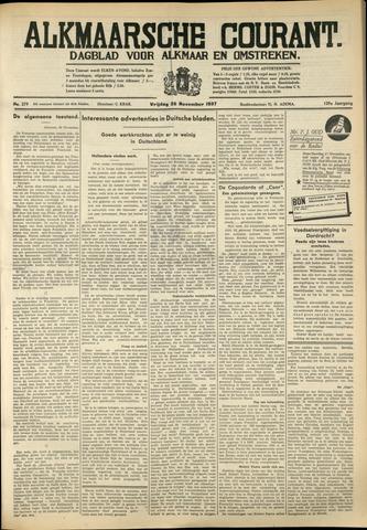Alkmaarsche Courant 1937-11-26