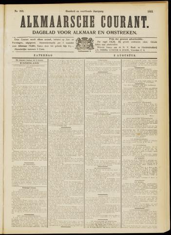 Alkmaarsche Courant 1912-08-03