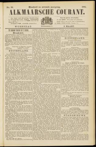 Alkmaarsche Courant 1905-03-08