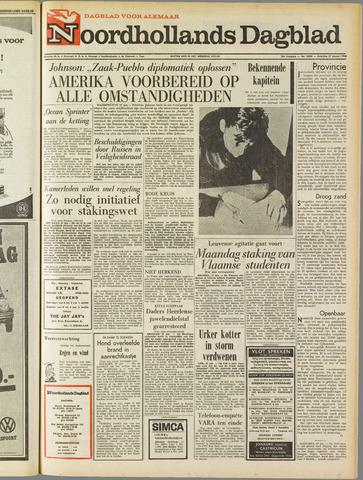 Noordhollands Dagblad : dagblad voor Alkmaar en omgeving 1968-01-27