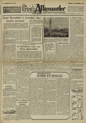 De Vrije Alkmaarder 1948-09-18