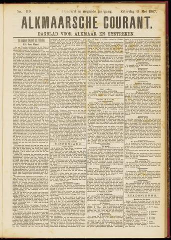 Alkmaarsche Courant 1907-05-11