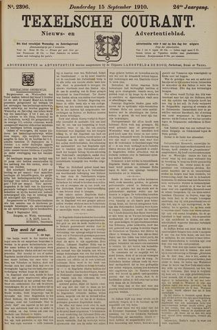 Texelsche Courant 1910-09-15