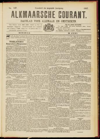 Alkmaarsche Courant 1907-06-25