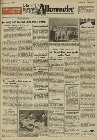 De Vrije Alkmaarder 1947-10-14