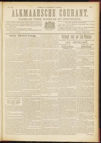 Alkmaarsche Courant 1917-11-26