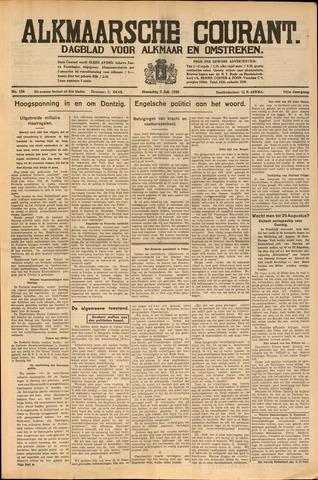 Alkmaarsche Courant 1939-07-03
