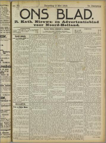 Ons Blad : katholiek nieuwsblad voor N-H 1913-05-03