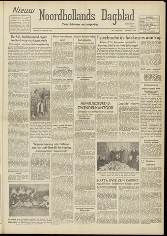 Nieuw Noordhollandsch Dagblad : voor Alkmaar en omgeving 1948-02-03