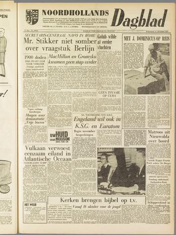 Noordhollands Dagblad : dagblad voor Alkmaar en omgeving 1961-10-11
