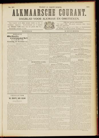 Alkmaarsche Courant 1907-11-12
