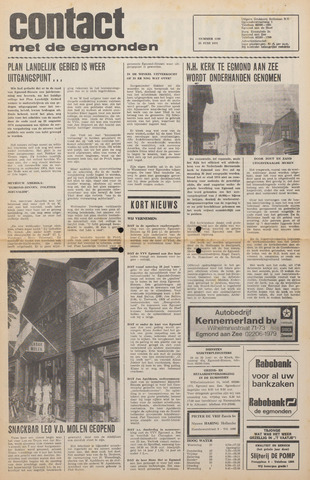 Contact met de Egmonden 1975-06-25