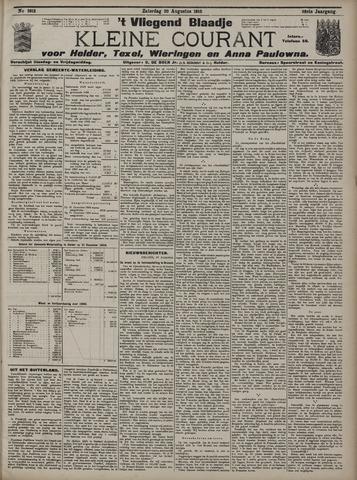 Vliegend blaadje : nieuws- en advertentiebode voor Den Helder 1910-08-20