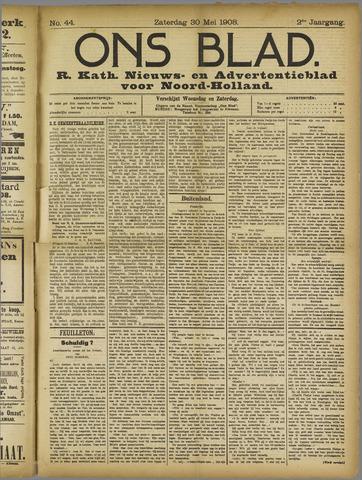 Ons Blad : katholiek nieuwsblad voor N-H 1908-05-30