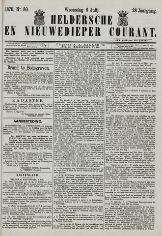 Heldersche en Nieuwedieper Courant 1870-07-06