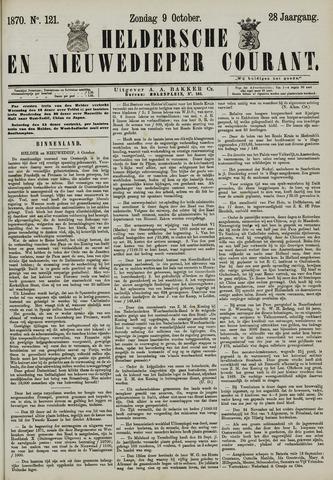 Heldersche en Nieuwedieper Courant 1870-10-09