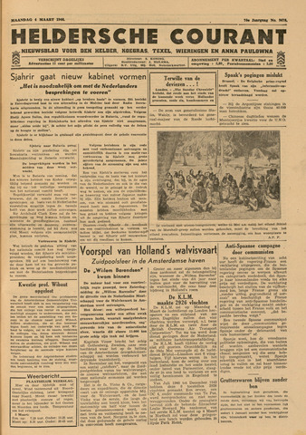 Heldersche Courant 1946-03-04