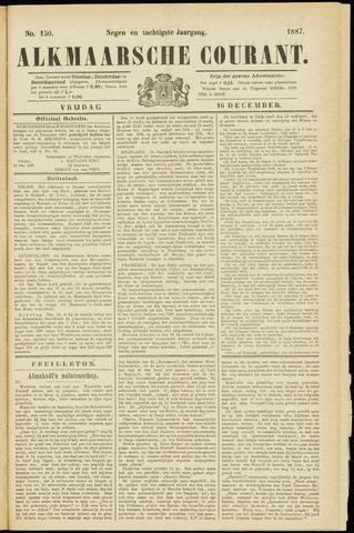 Alkmaarsche Courant 1887-12-16