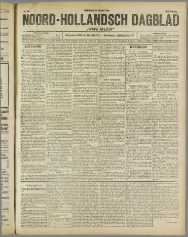 Ons Blad : katholiek nieuwsblad voor N-H 1922-02-22