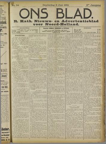 Ons Blad : katholiek nieuwsblad voor N-H 1912-06-06