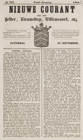 Nieuwe Courant van Den Helder 1864-09-10