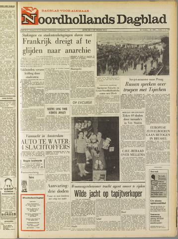 Noordhollands Dagblad : dagblad voor Alkmaar en omgeving 1968-05-17