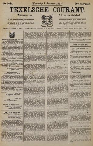 Texelsche Courant 1913