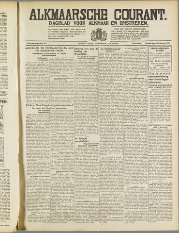 Alkmaarsche Courant 1941-02-20