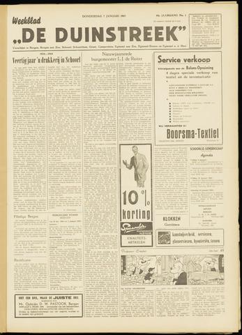 De Duinstreek 1965-01-07
