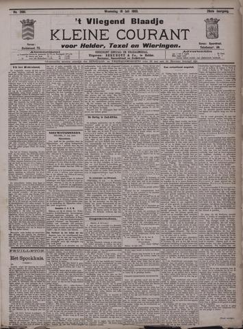 Vliegend blaadje : nieuws- en advertentiebode voor Den Helder 1900-07-18