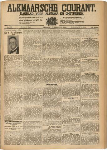 Alkmaarsche Courant 1930-08-12