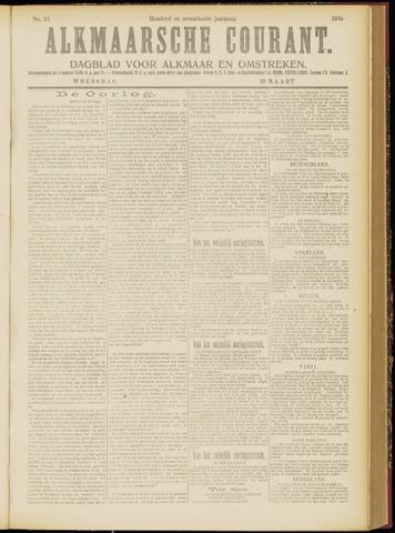Alkmaarsche Courant 1915-03-10