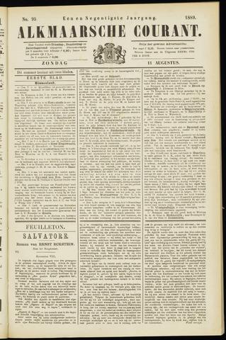 Alkmaarsche Courant 1889-08-11