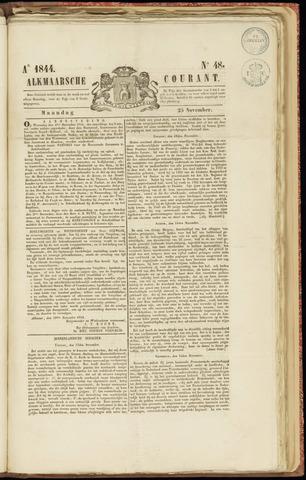 Alkmaarsche Courant 1844-11-25