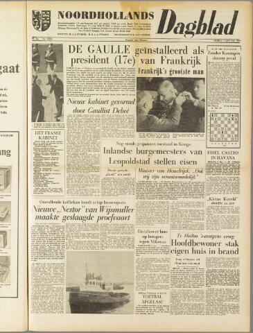 Noordhollands Dagblad : dagblad voor Alkmaar en omgeving 1959-01-09