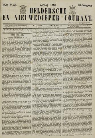 Heldersche en Nieuwedieper Courant 1870-05-01