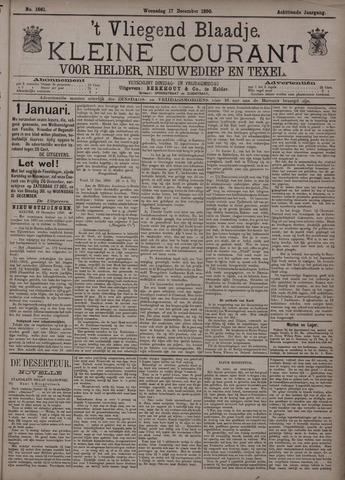 Vliegend blaadje : nieuws- en advertentiebode voor Den Helder 1890-12-17