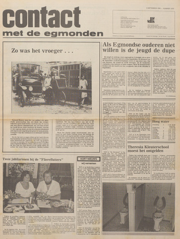 Contact met de Egmonden 1980-09-03