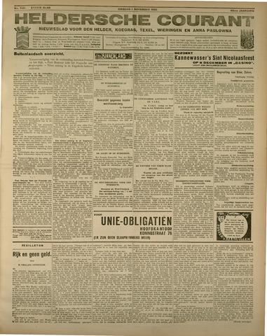 Heldersche Courant 1932-11-01