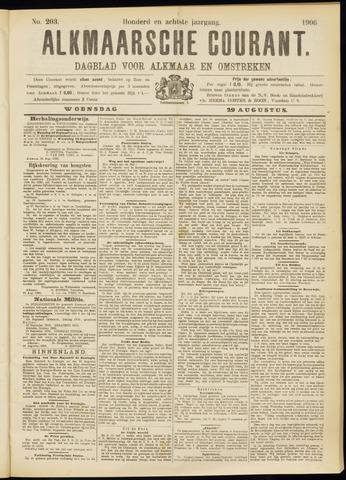 Alkmaarsche Courant 1906-08-29