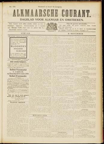 Alkmaarsche Courant 1910-11-18