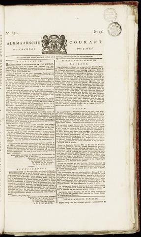 Alkmaarsche Courant 1831-05-09