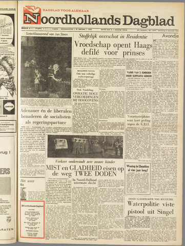 Noordhollands Dagblad : dagblad voor Alkmaar en omgeving 1962-12-05