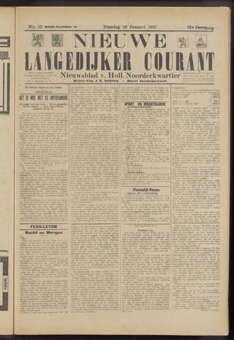 Nieuwe Langedijker Courant 1927-01-25