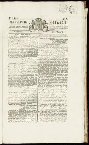 Alkmaarsche Courant 1843-02-20